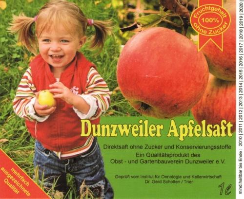 Etikett Dundzweiler