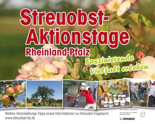Streuobst-Aktionstage Rheinland-Pfalz